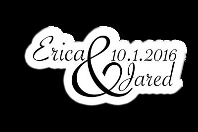 Erica and Jared PhotoWall FUN!!!