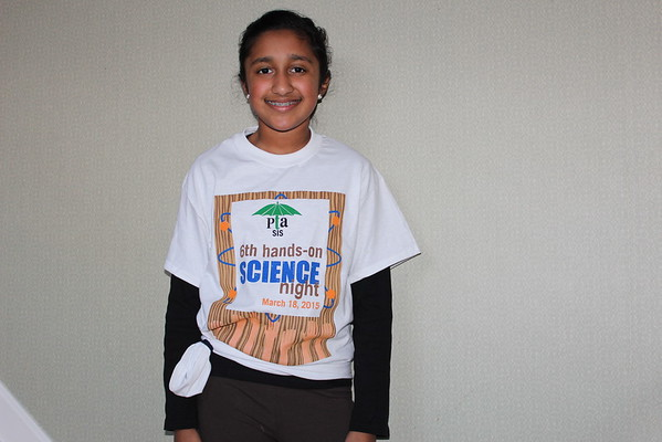 Erica's Science Night SIS 5th grade 2014