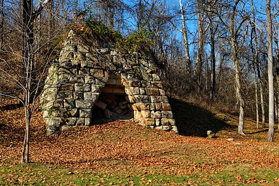 An old iron furnace. The Etna furnace?