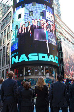 NASDAQ Billboard in Manhattan