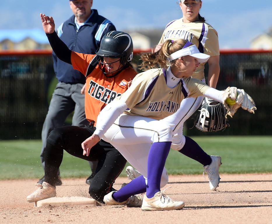 Erie Holy Family Softball