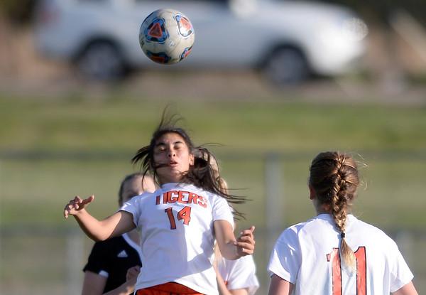 Erie vs Berthoud Girls Soccer