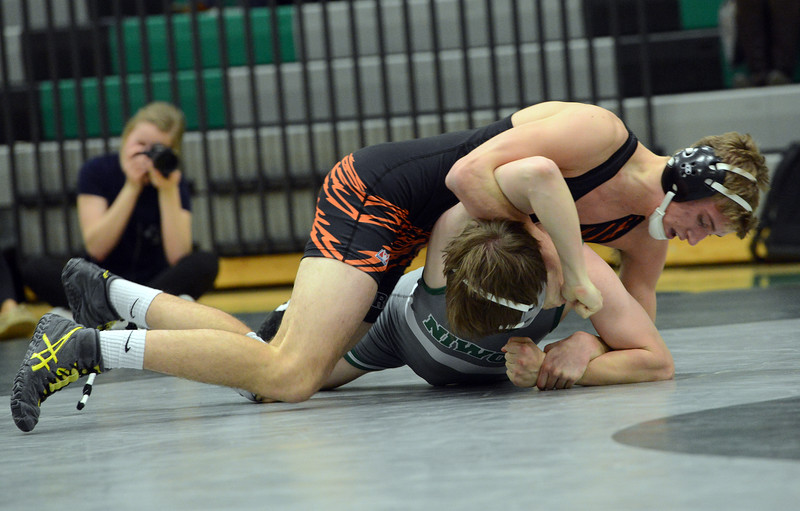 NIWOT VS ERIE WRESTLING