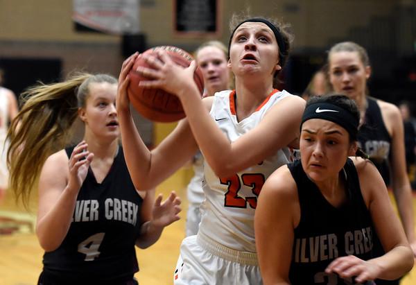Erie vs Silver Creek Girls Hoops