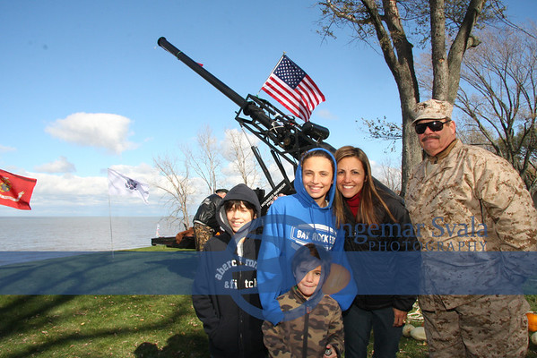 Erie Kai sponsors Wounded Warrior Fundraiser with Pumpkin Launch Nov 3, 2012