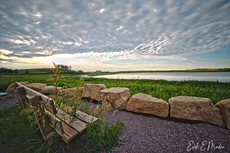 Sunset at Goose Pond Sanctuary