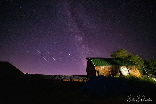 2020 Perseids Meteor Shower