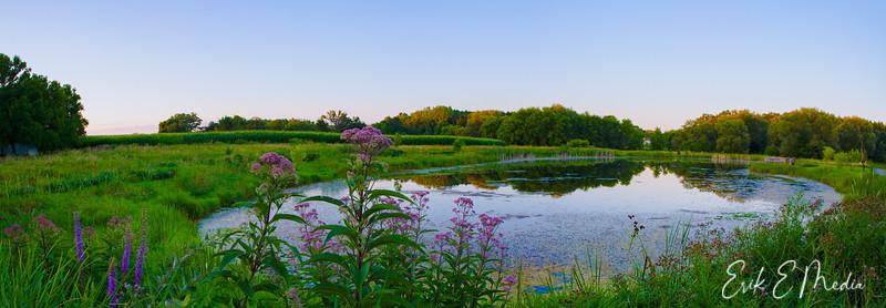 Sunfish Pond HDR Panoramic