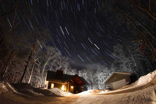 Eagle River Star Trails