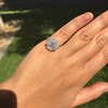 2.67ct Antique Cushion Cut Diamond in Iris Halo, by Erika Winters 31