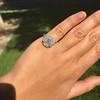 2.67ct Antique Cushion Cut Diamond in Iris Halo, by Erika Winters 36