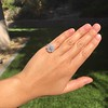 2.67ct Antique Cushion Cut Diamond in Iris Halo, by Erika Winters 36