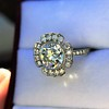 2.67ct Antique Cushion Cut Diamond in Iris Halo, by Erika Winters 25