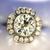 2.67ct Antique Cushion Cut Diamond in Iris Halo, by Erika Winters 6