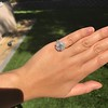 2.67ct Antique Cushion Cut Diamond in Iris Halo, by Erika Winters 29