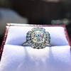2.67ct Antique Cushion Cut Diamond in Iris Halo, by Erika Winters 4