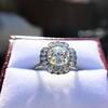 2.67ct Antique Cushion Cut Diamond in Iris Halo, by Erika Winters 10