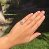 2.67ct Antique Cushion Cut Diamond in Iris Halo, by Erika Winters 39