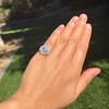2.67ct Antique Cushion Cut Diamond in Iris Halo, by Erika Winters 44