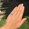 2.67ct Antique Cushion Cut Diamond in Iris Halo, by Erika Winters 48