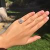 2.67ct Antique Cushion Cut Diamond in Iris Halo, by Erika Winters 18