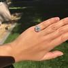 2.67ct Antique Cushion Cut Diamond in Iris Halo, by Erika Winters 33