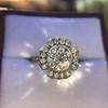 2.67ct Antique Cushion Cut Diamond in Iris Halo, by Erika Winters 19
