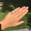 2.67ct Antique Cushion Cut Diamond in Iris Halo, by Erika Winters 15