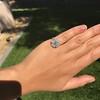 2.67ct Antique Cushion Cut Diamond in Iris Halo, by Erika Winters 35