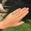 2.67ct Antique Cushion Cut Diamond in Iris Halo, by Erika Winters 20