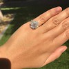 2.67ct Antique Cushion Cut Diamond in Iris Halo, by Erika Winters 32