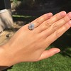 2.67ct Antique Cushion Cut Diamond in Iris Halo, by Erika Winters 13