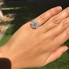 2.67ct Antique Cushion Cut Diamond in Iris Halo, by Erika Winters 33