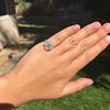 2.67ct Antique Cushion Cut Diamond in Iris Halo, by Erika Winters 16