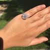 2.67ct Antique Cushion Cut Diamond in Iris Halo, by Erika Winters 25