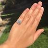 2.67ct Antique Cushion Cut Diamond in Iris Halo, by Erika Winters 47