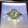 2.67ct Antique Cushion Cut Diamond in Iris Halo, by Erika Winters 46