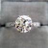 1.54ct Old European Cut Diamond Solitaire GIA L VS1 Grace Solitaire 12