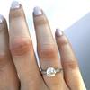 1.54ct Old European Cut Diamond Solitaire GIA L VS1 Grace Solitaire 24
