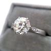 1.54ct Old European Cut Diamond Solitaire GIA L VS1 Grace Solitaire 15