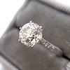 1.54ct Old European Cut Diamond Solitaire GIA L VS1 Grace Solitaire 22