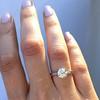 1.54ct Old European Cut Diamond Solitaire GIA L VS1 Grace Solitaire 6