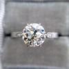 1.54ct Old European Cut Diamond Solitaire GIA L VS1 Grace Solitaire 11