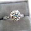1.54ct Old European Cut Diamond Solitaire GIA L VS1 Grace Solitaire 10