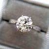 1.54ct Old European Cut Diamond Solitaire GIA L VS1 Grace Solitaire 4