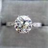 1.54ct Old European Cut Diamond Solitaire GIA L VS1 Grace Solitaire 0