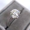 1.54ct Old European Cut Diamond Solitaire GIA L VS1 Grace Solitaire 19