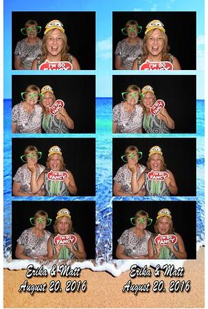 Erika and Matt's Wedding 8-20-16
