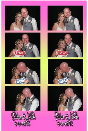 Erika and Nick's Wedding 8-5-16