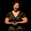 "On June 19, 2017, Soprano Alaysha Fox sings ""Il est doux, il est bon"" from Jules Massenet's ""Herodiade"" at Norton Hall. ERIN CLARK / PHOTOGRAPHER"